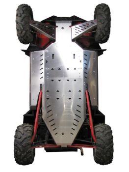 Glideplader fuldt sæt - Polaris RZR900 XP