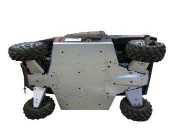 Skid plates full kit - Polaris 900XP Ranger