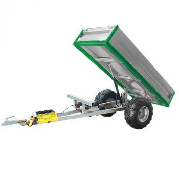 Hydraulisk tipvogn (600 kg lastekapacitet)