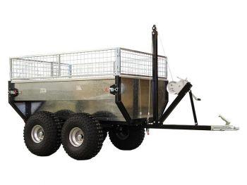 Tip trailer med 1000 kg kapacitet