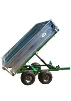 Hydraulisk Vippende trailer - 2500kg kapacitet