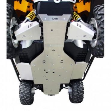 Full ALU Glideplade - CAN-AM Commander 1000XT/800R