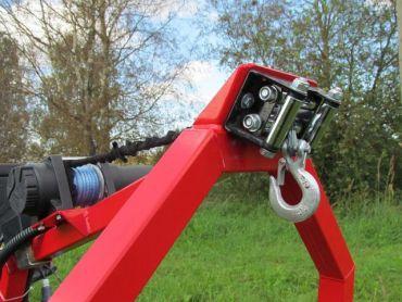 Elektrisk håndsvingssæt til ATV træ transportør