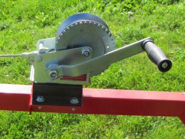 Manuelt håndsvingssæt til ATV træ transportør
