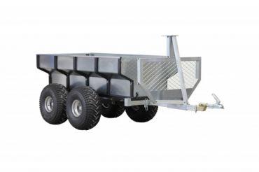 ATV træ trailer + last boks