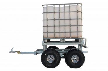 ATV træ trailer + VANDTANK SÆT (1000L)