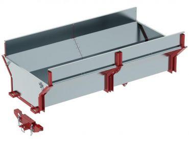 Cargo boks til ATV træ trailer