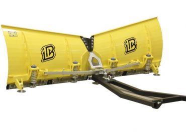 Sneplov til ATV - 180cm V-formet klinge