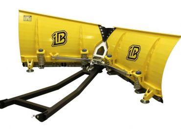 Sneplov til ATV - 150cm V-formet klinge