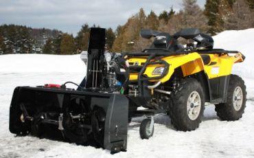 """ATV sne blower 48"""" (122CM) 14hp Kohler engine"""