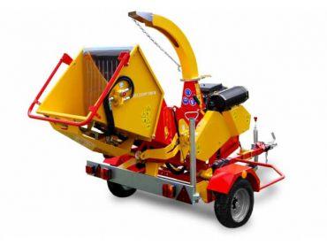 XYLOCHIP 175 M - 51 HP Lombardini Diesel motor monteret træ chipper / shredder
