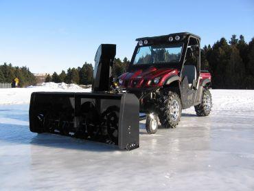 "ATV sne blower 66"" (167 CM) 22HP HONDA ENGINE"