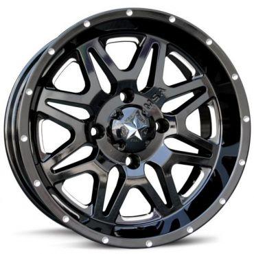 MSA M26 Gloss black/Milled