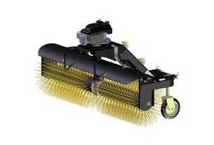 Gade rengøring Angle Broom til ATV - UTV