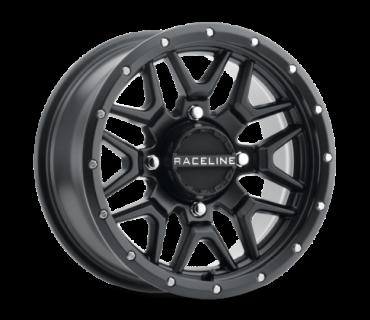 Raceline - SIMULATED BEADLOCK KRANK 14X7 4/137 ATV-fælge