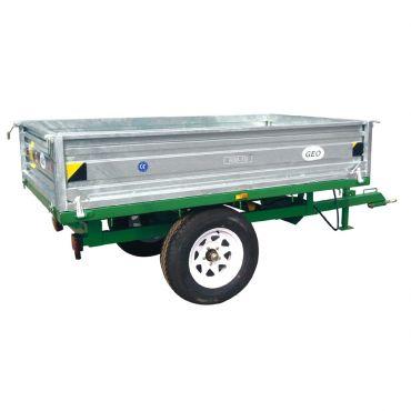 Hydraulisk Vippende trailer - 1500kg kapacitet
