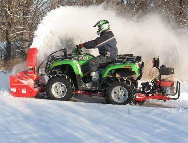 Sne blæser med 19HP Briggs & Stratton motor